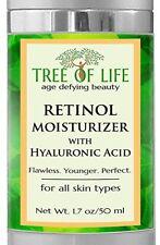 Crema Retinol Para La Piel Antiarrugas - Con Vitamina C y Acido Hialuronico