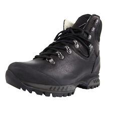 HANWAG Men's Black Yak Leather Lhasa Boots HWH1221 NIB