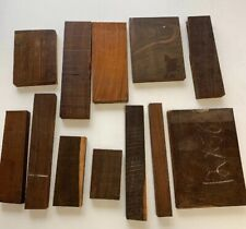 BEAUTIFUL! EXOTIC COCOBOLO WOOD CUT-OFFS! 19 Pounds box