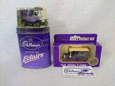 Lledo Cadburys Chocolate Eclairs & 1928 Model T Ford Diecast Delivery Vans