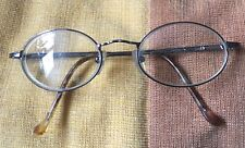 Vintage Metal Brown  Eye Glasses 40/19  made in Hong Kong