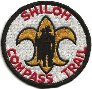 Shiloh Compass Trail Boy Scout BSA Patch Camp