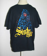 Sister Hell Black Graphic T-shirt Size L Large Horror Film Short Sleeve Top