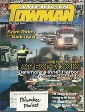 American Towman October 2017 Spirit Rides Into Baltimore at Expo XXlX Inner Harb