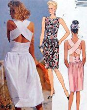 4353  Misses Sun Dress Sewing Pattern Sz 6-10 1989 UNCUT