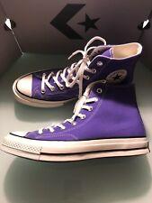 $72 Chuck 70 Hi Converse Chuck Taylor All Star Purple canvas