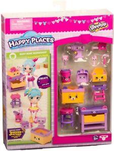 Happy Places Shopkins Season 3 - Busy Bear Workshop - Decorator Pack