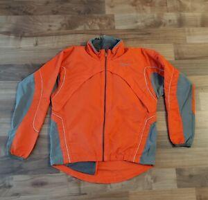 Swix Women Jacket Size M Ski Cross Country Winter Snow Lightweight Orange