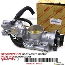 TOYOTA LEXUS SEQUOIA TUNDRA LX470 FACTORY OEM 2203050142 INJECTION THROTTLE BODY