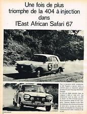 PUBLICITE ADVERTISING 114  1967  SIMCA   SUNBEAM ALPINE