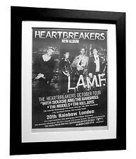 HEARTBREAKERS+LAMF+TOUR+POSTER+AD+RARE+ORIGINAL+1977+FRAMED+EXPRESS GLOBAL SHIP