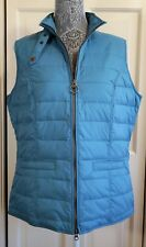 New Women's Barbour Holsteiner Quilted Gilet LQU0710BL31 Size 12 US XL $179