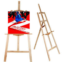 Portable Durable Artist Wood Easel Art Stand Drawing w/Board Paint Canvas Holder
