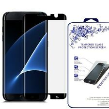 [CASE FRIENDLY] Samsung Galaxy S7 Edge [3D Full Cover] Glass Screen Protector