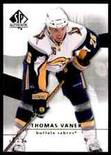 2008-09 SP Authentic Thomas Vanek #8