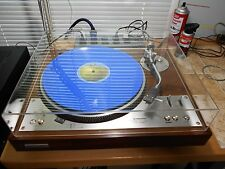 Pioneer PL-530 Turntable New Dust Cover Outputs & Stylus Tested Audiophile Great