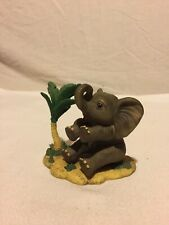 "1998 African Elephant Hamilton Sculpture Collection ""Protect Nature's Innocents"""