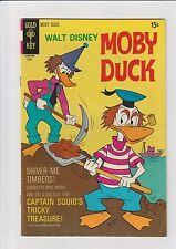 Moby Duck #19 VG/F 1975 Gold Key Comic Bath Tub