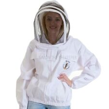 Buzz Beekeepers Jacket with fencing veil and front zip - Small