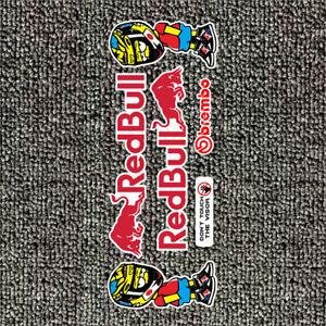 Redbull Energy high quality reflective bike stickers