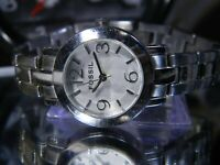 """Women's 6"""" White Dial 5 ATM Fossil Watch. ES2187 New Battery. 2 Year Warranty"""
