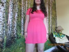 Atmosphere dress, bright pink, size 12, good condition