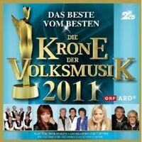DIE KRONE DER VOLKSMUSIK 2011 2 CD NEU