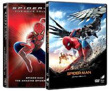 SPIDER-MAN - COLLEZIONE COMPLETA (6 DVD) Tom Holland, Tobey Maguire, A.Garfield