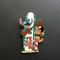 Lilo & Stitch and Gang with Surfboard Logo - Disney Pin 25368