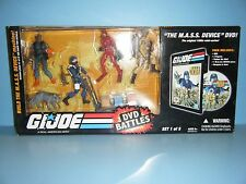 GI JOE DVD BATTLES THE M.A.S.S. DEVICE SET 1 of 5
