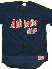 Rawlings Athletic Edge 27 jersey L Large Pro dri Polyester Blue Mesh