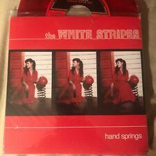 "WHITE STRIPES Hand Springs 7"" RED/BLACK VINYL RSD 2012 UNPLAYED"