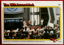 STAR TREK - MOVIE - Card #23 - THE UFP ASSEMBLED - TOPPS 1979