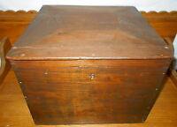 Refinished Antique Dovetailed Wood Box