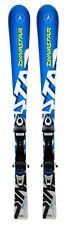 Dynastar Team Comp Jr Youth Skis 130 cm w/Nova Team 7 Bindings -Blue/White - NEW