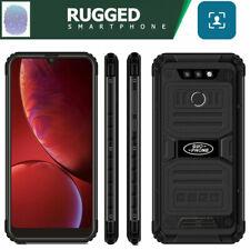 """6.25"""" Smartphone Unlocked Rugged Android Waterproof Phone Dual SIM Fingerprint"""
