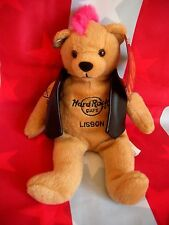 HRC hard rock cafe Lisbon Lisboa punk Bear Mohawk 2011 Pink Hair Herrington