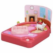 TAKARA TOMY Ania Friends Foot it Garden Cat House Pink Animal Figure Play Set
