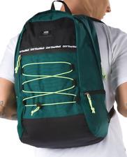 Brand New Vans Snag Plus Backpack Vans Trekking Green Black Yellow