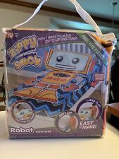 Rare Zippy Sack * Robot * Twin New As SEEN On TV Hard To Find NEW Never Opened