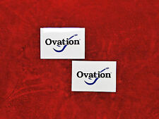 Ovation Guitars TWO Sticker Set.....