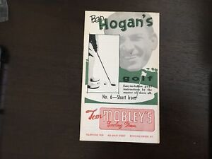 Ben Hogan's Golf Instruction Booklet Vintage 1953 1st Edition #6 Short Irons