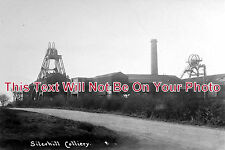 NT 18 - Silverhill Colliery, Nottinghamshire c1909 - 6x4 Photo
