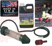 AUTO Engine Block Combustion Gas Leak Detector Indication Fluid Tester Tool