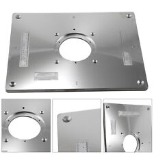 New Aluminum Router Table Insert Plate 235x300x8mm With Ring For Woodworking UK
