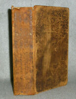 Antique Bible Leather Book New York NY Publisher Tyler James Smith Family 1856