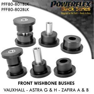 Astra H POWERFLEX BLACK SERIES front wishbone bushes MK5 VXR SRI Z20LEH Z20LEL