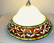 Tiffany Style Hanging Light Lamp Shade Ceiling Pendant Stained Glass Fixture