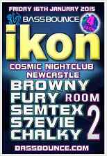 IKON LIVE IN NEWCASTLE - FRIDAY 16TH JANUARY 2015 - ROOM-2