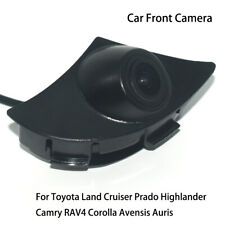 Car Front View Parking HD Camera for Toyota Prado Highlander Camry RAV4 Avensis